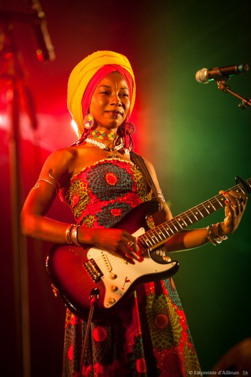 Fatoumata Diawarra, Fiesta Des Suds 2013