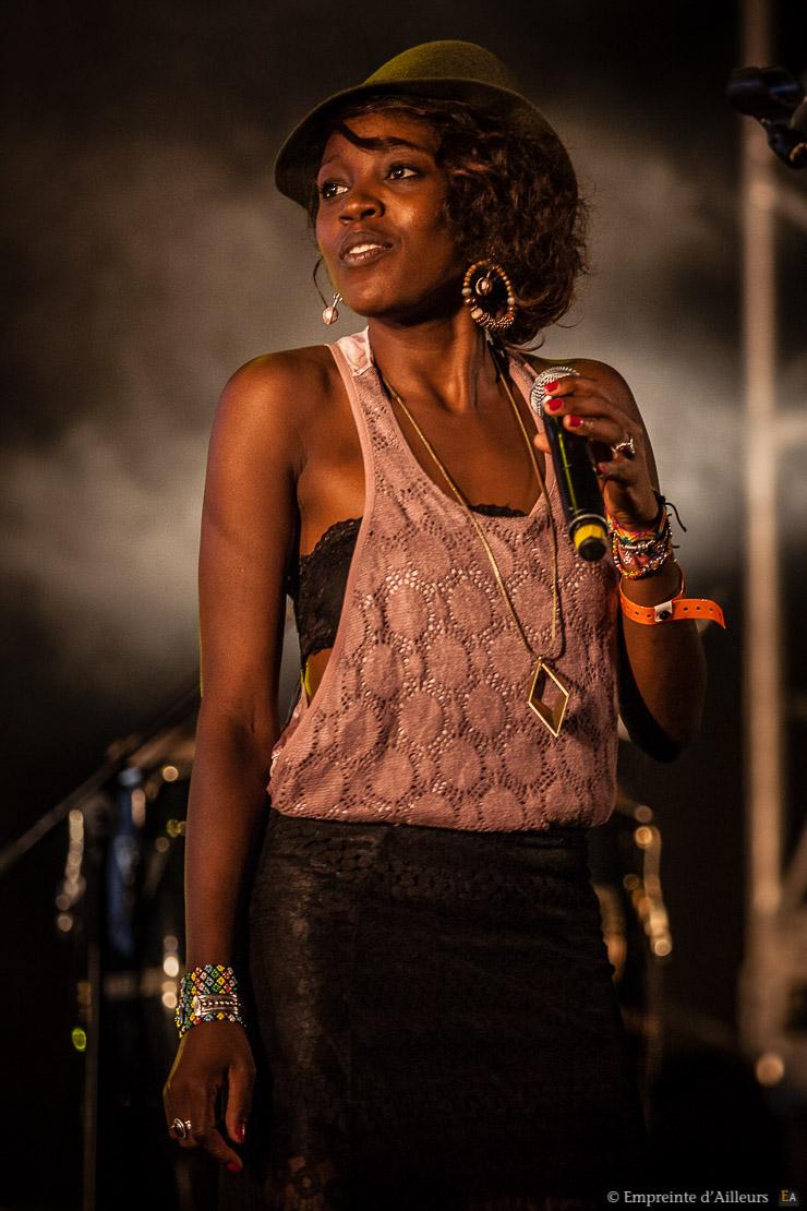 Audrey Gbaguidi, Fiesta Des Suds 2013