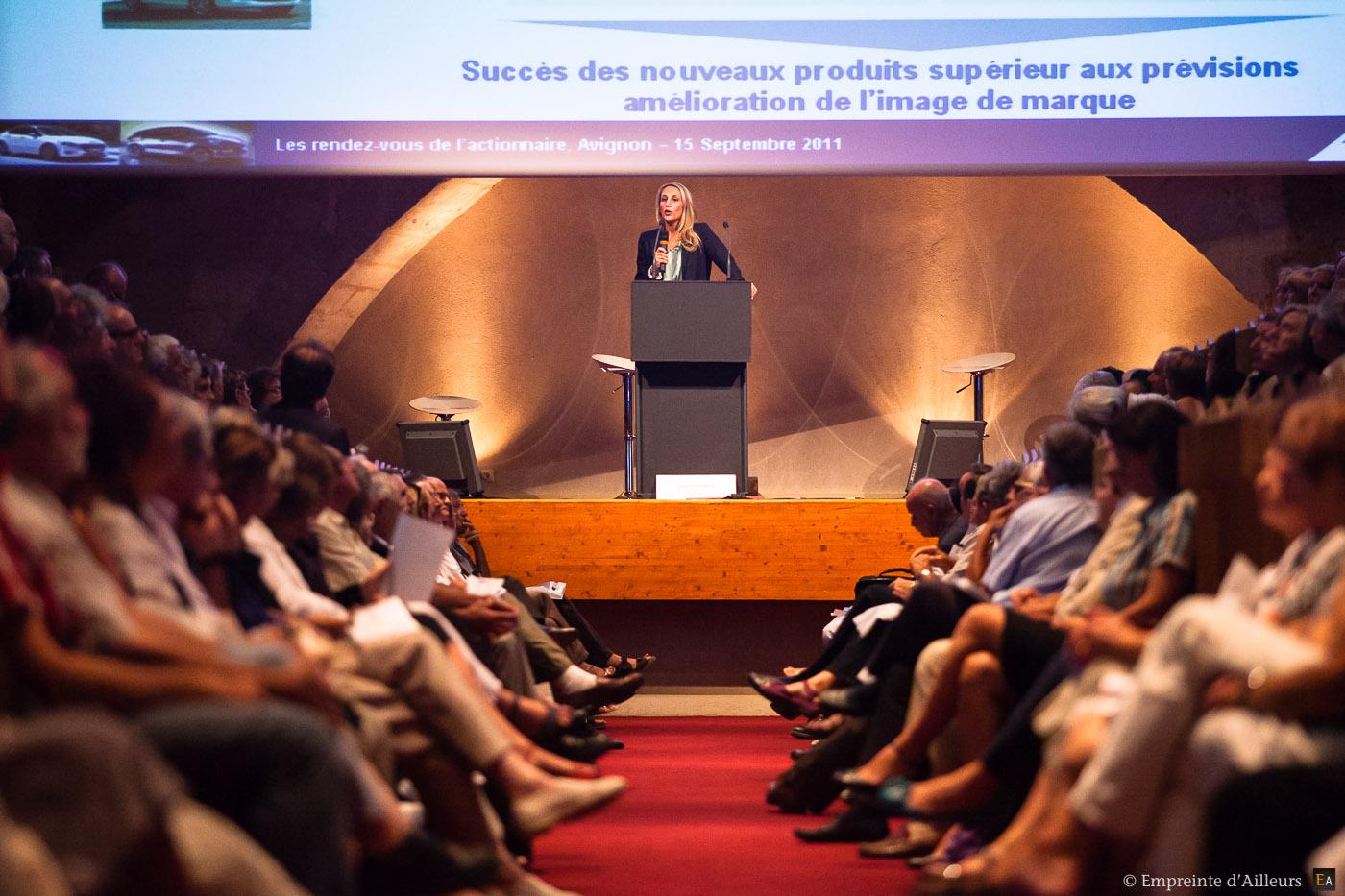 Congrès des actionnaires Peugeot Citroën