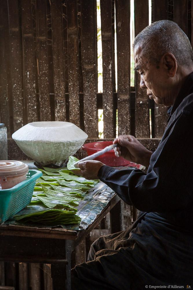 Préparation du betel