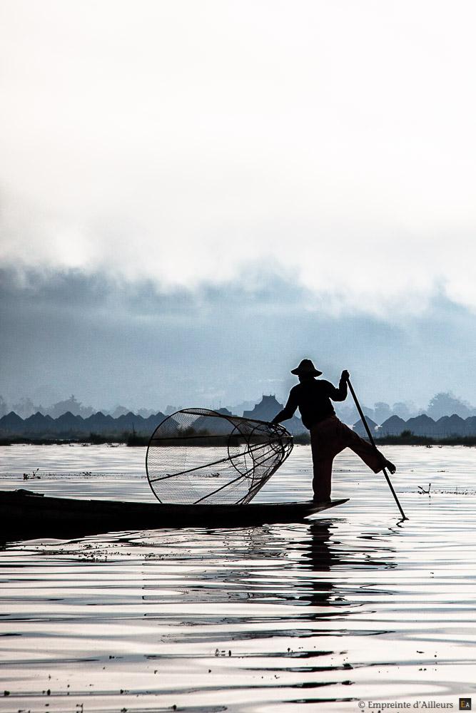 Pêcheur sur le lac Inle