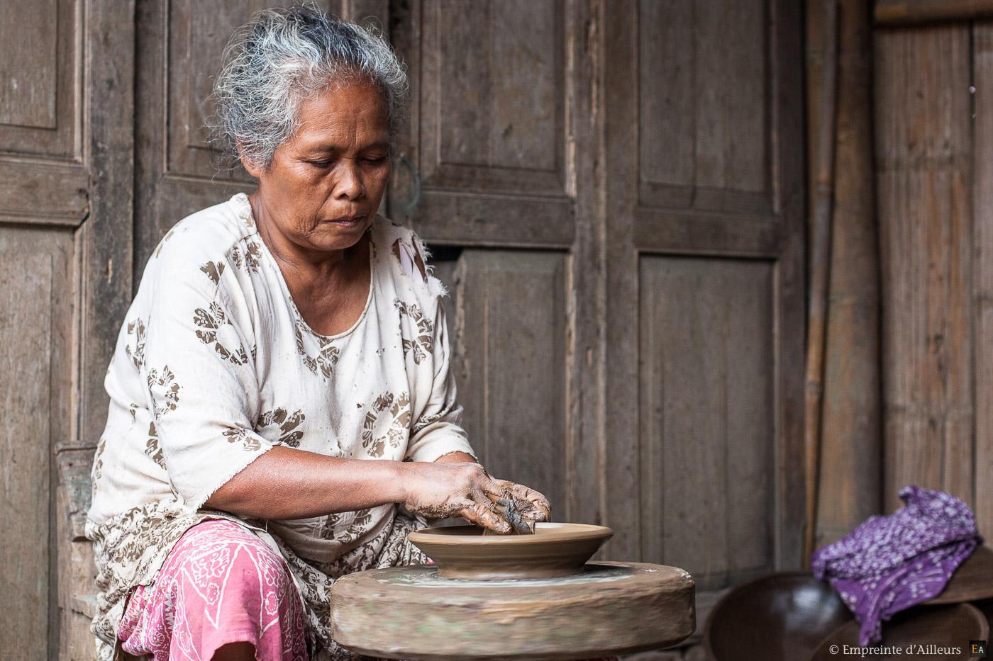 Potière de Java