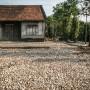 Séchage du manioc