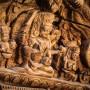 Finesse légendaire du travail du bois des artisans Népalais