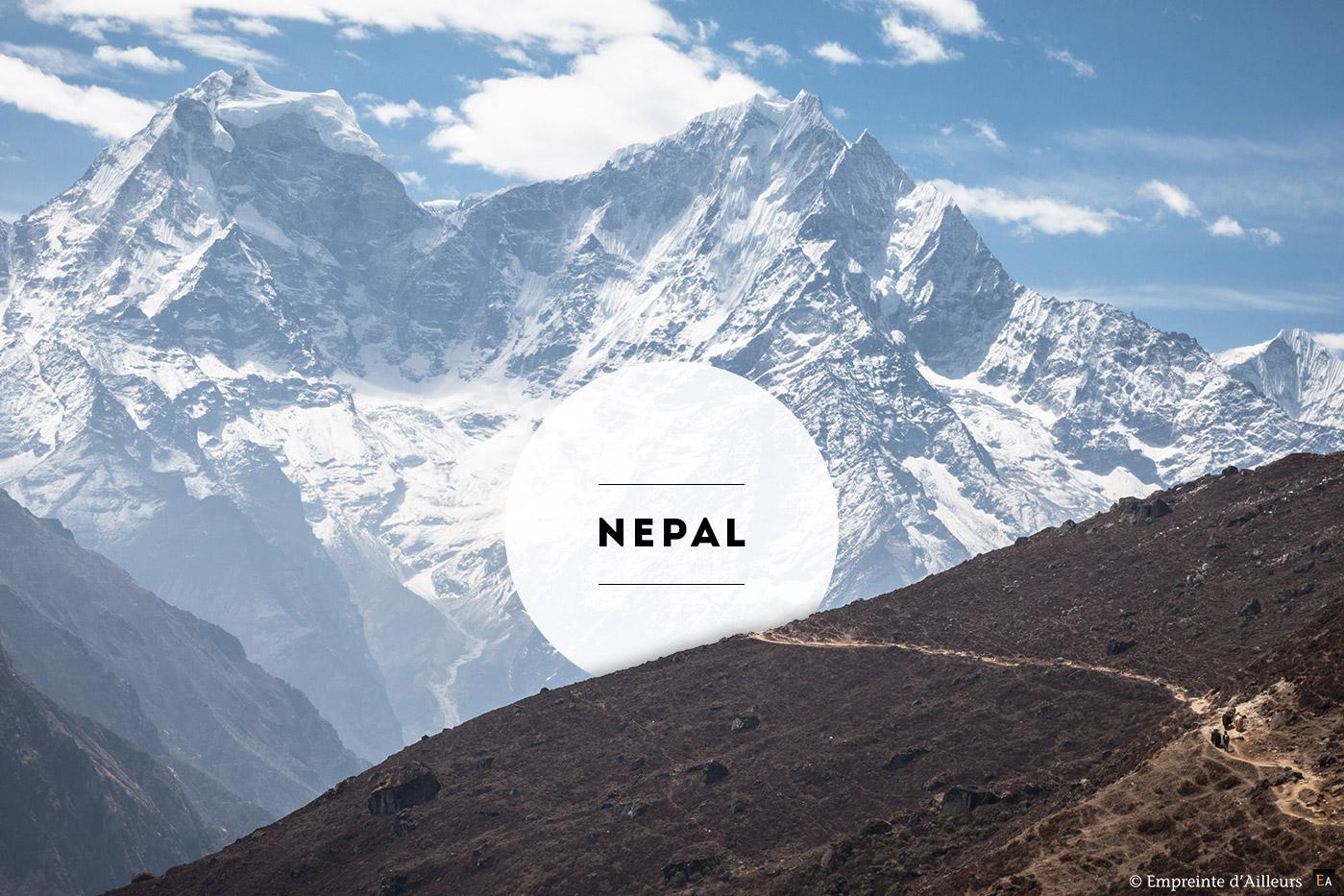 Népal la porte de l'Himalaya