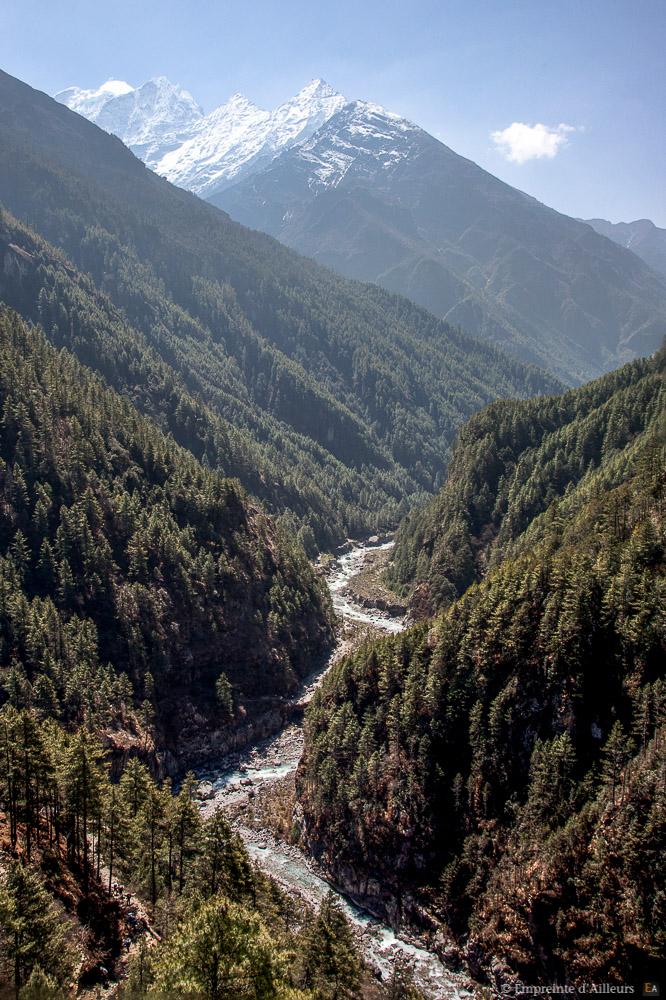 Paysage d'Himalaya