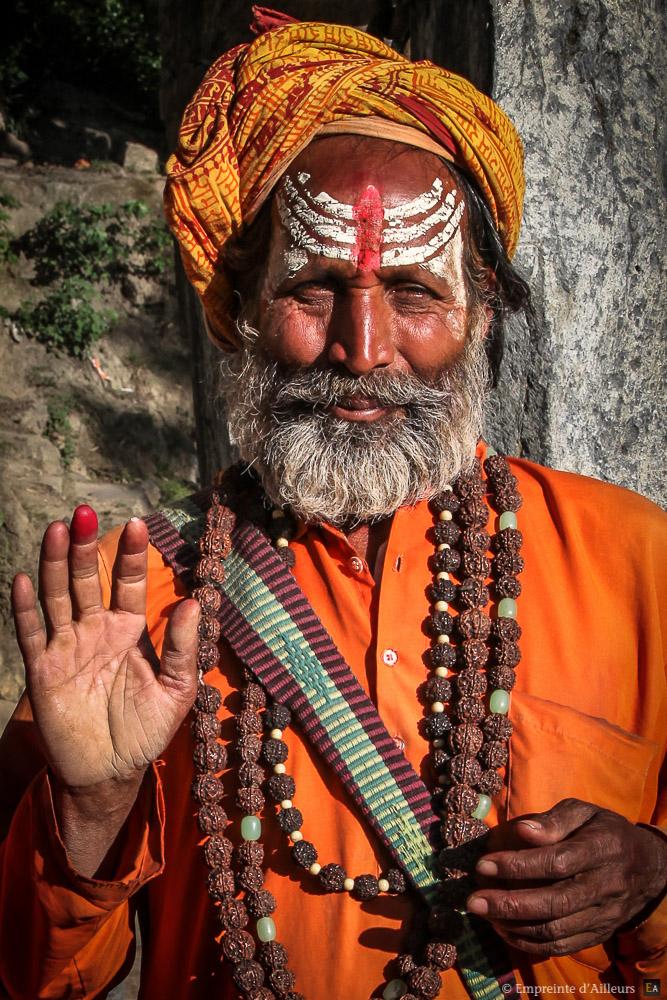 La bénédiction du sādhu