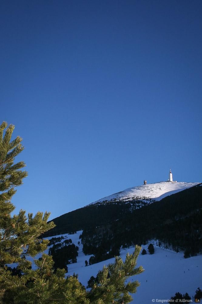Mont Ventoux sous la neige
