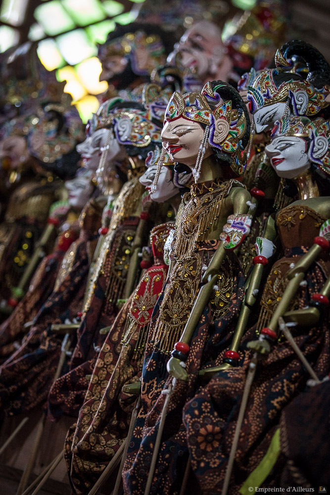 Marionnettes traditionnelles Javanaises