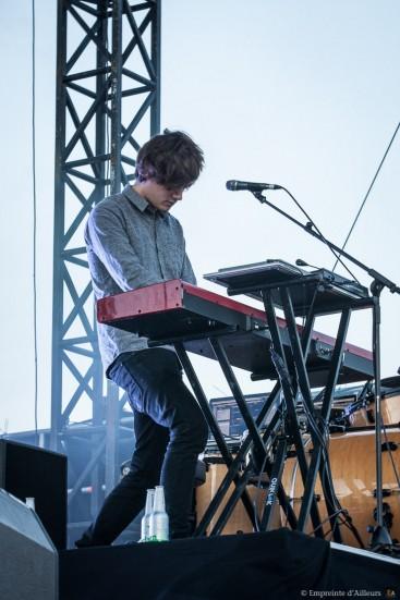 Concert London Grammar, festival Lives au Pont 2014
