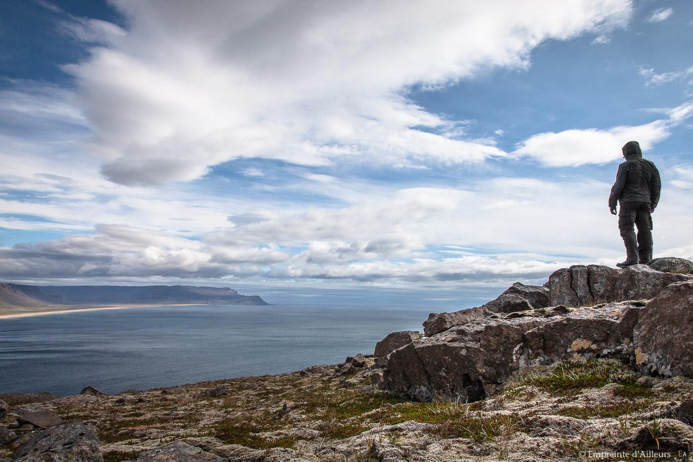Contemplation sur Rauðisandur