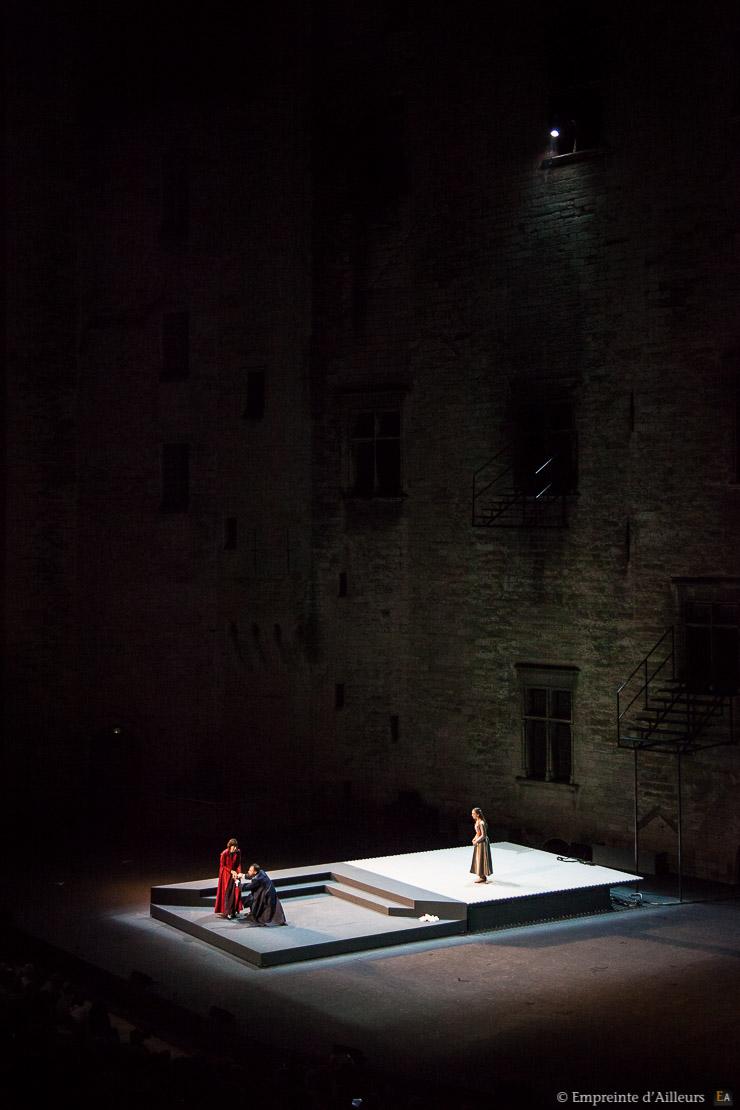 Prince de Hombourg, Festival d'Avignon au Palais des Papes