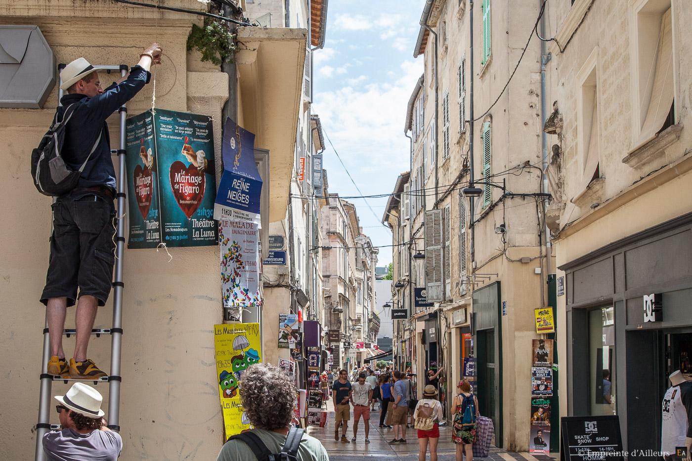 Festival Avignon affiche Bonneterie