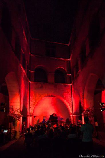 Maxence Cyrin au Petit Palais d'Avignon lors du festival Résonance