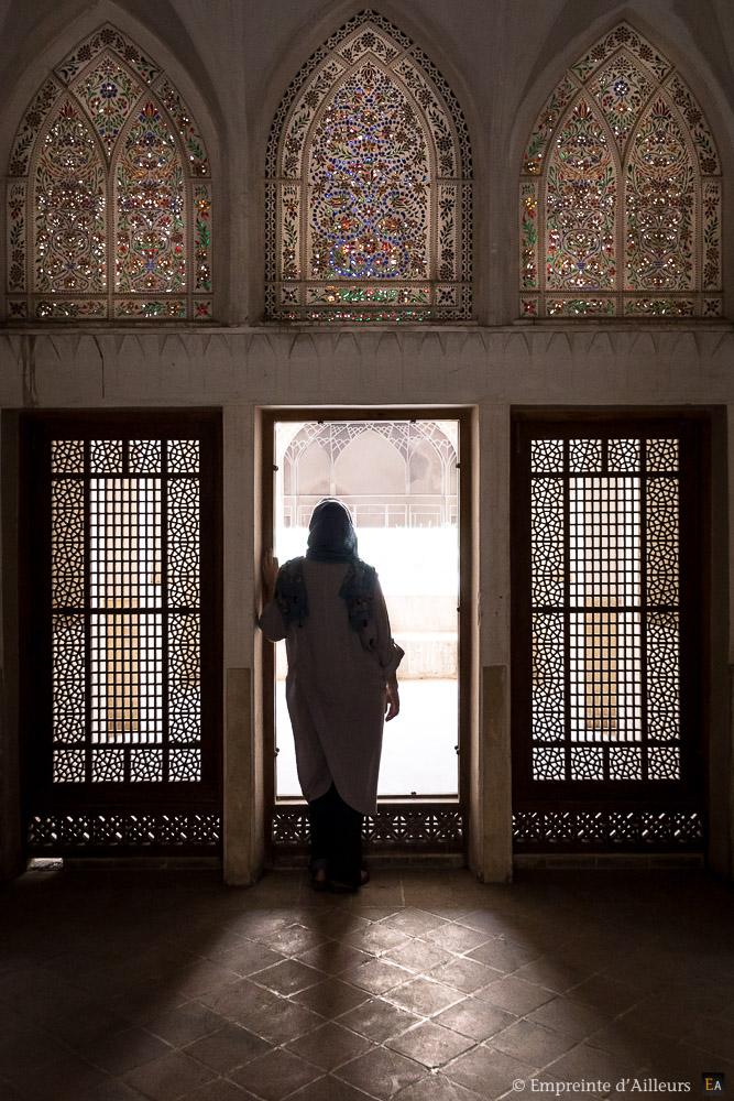 Porte et fenêtre de la maison traditionnelle Abbasi