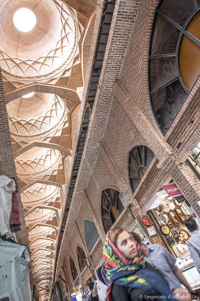 Toit du bazar de Téhéran
