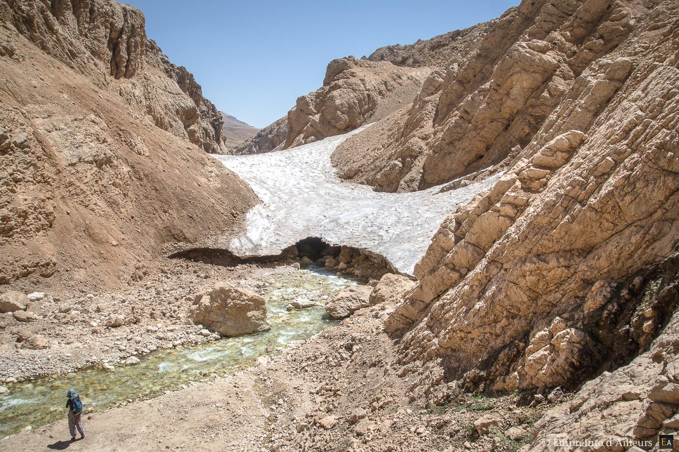 La grotte de glace de Chama