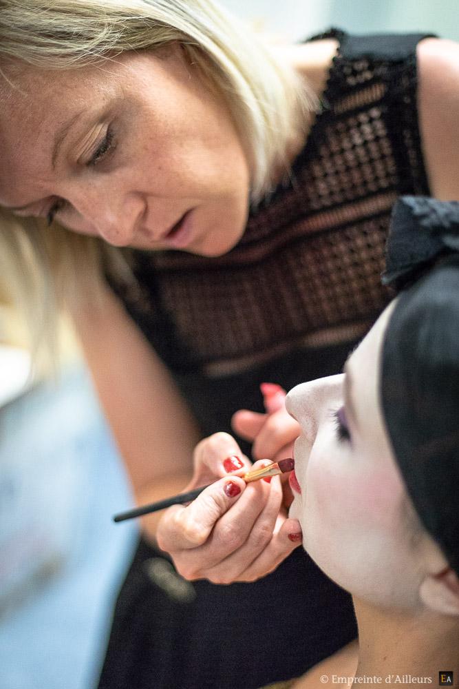 Artiste maquilleuse de l'Opéra d'Avignon