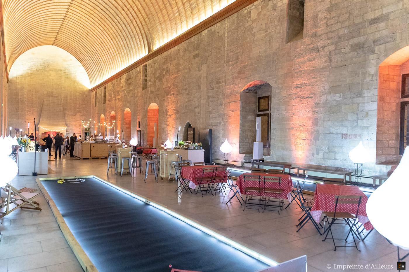 Salle du Grand Tinel au Palais des Papes