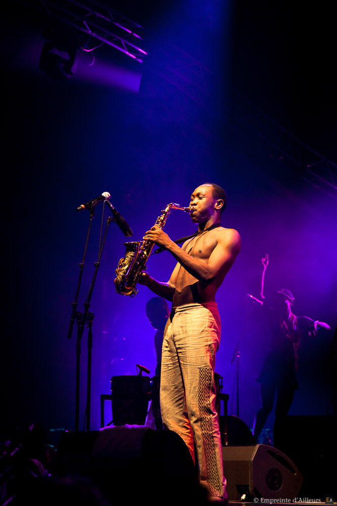 Seun Kuti au saxophone