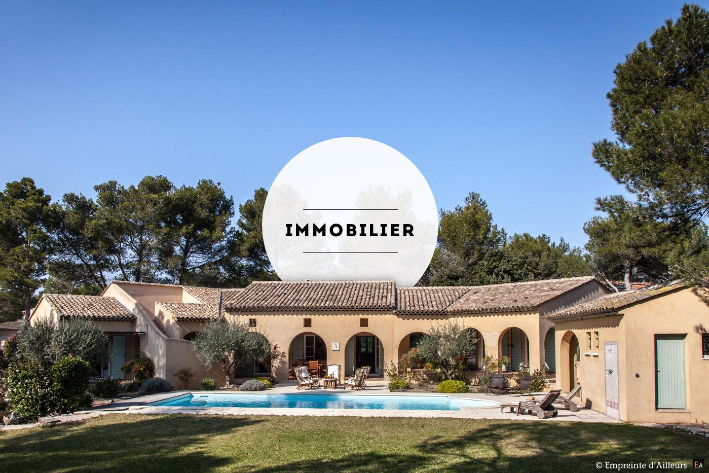 Photographe immobilier et maison en Provence