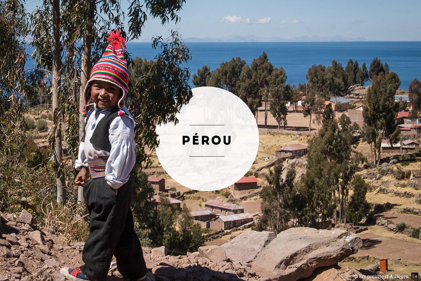 Photographie de voyage au Pérou