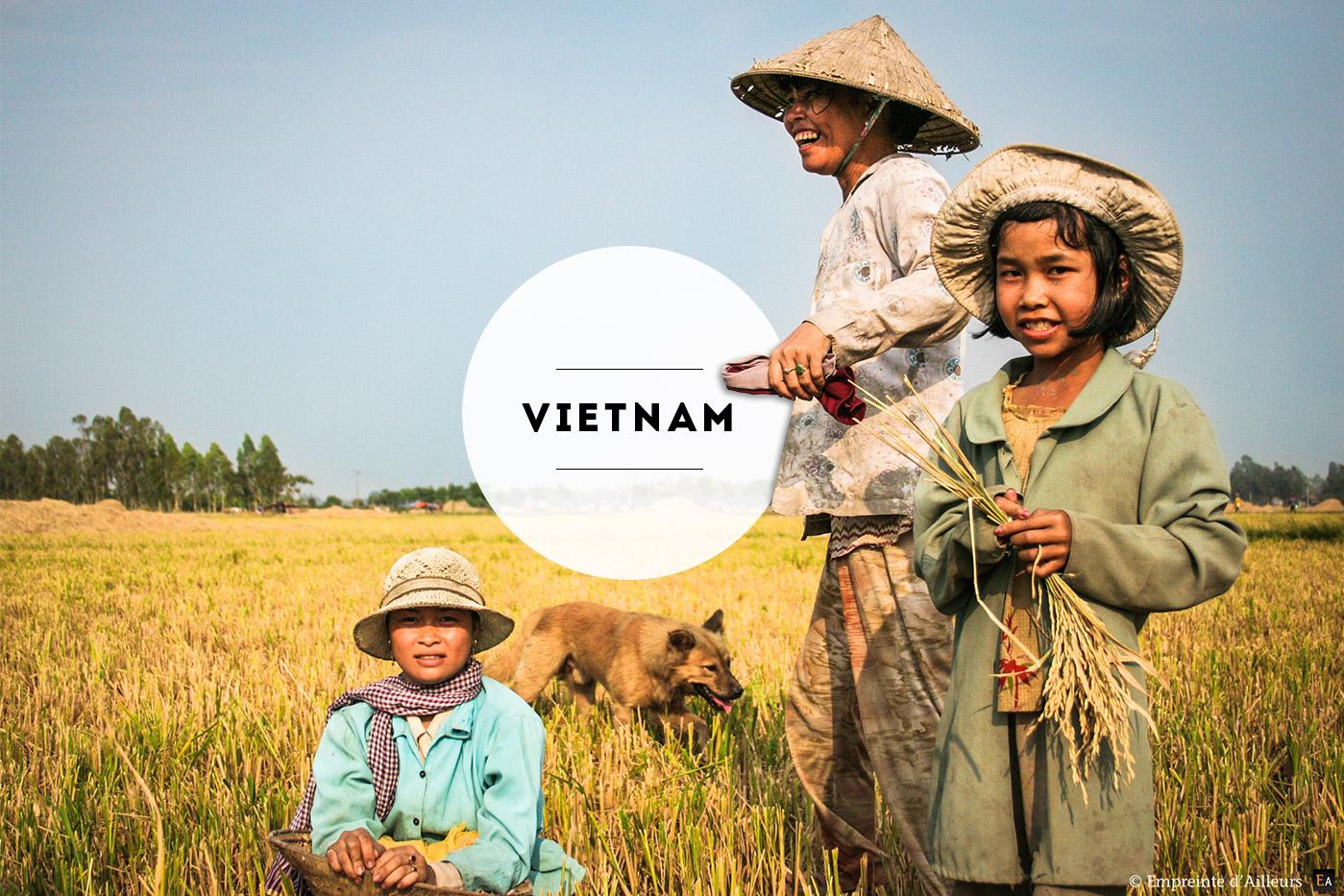 Photographie de voyage au Vietnam
