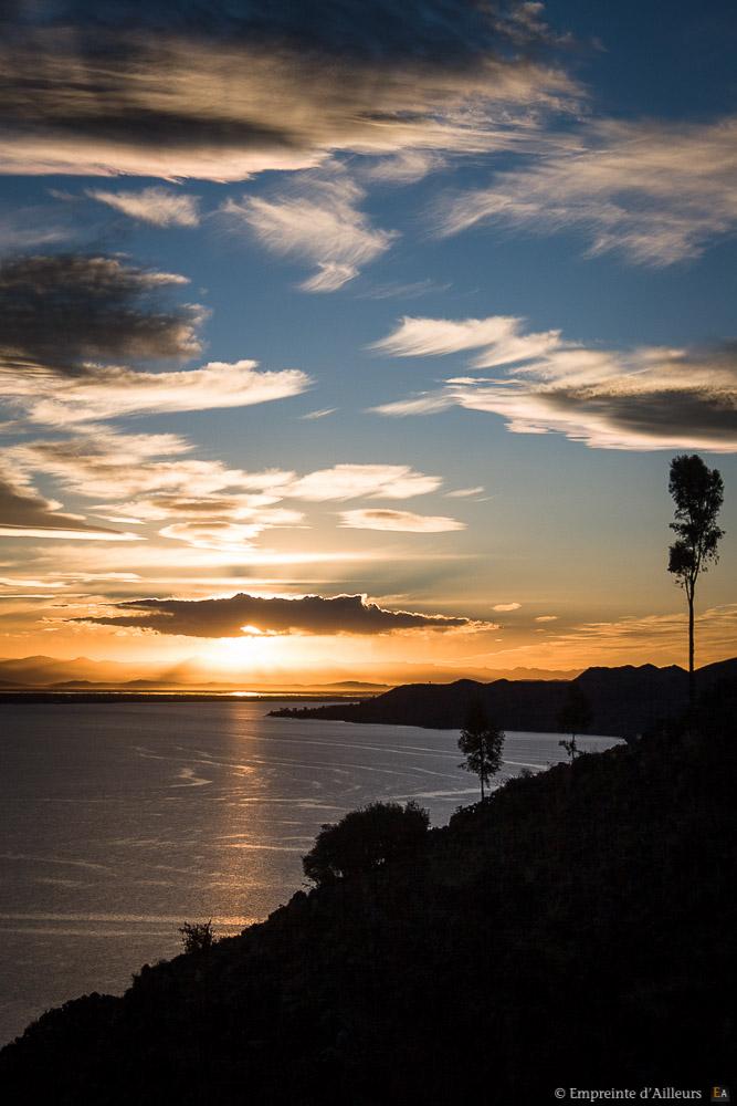 Couché de soleil sur Isla Taquile