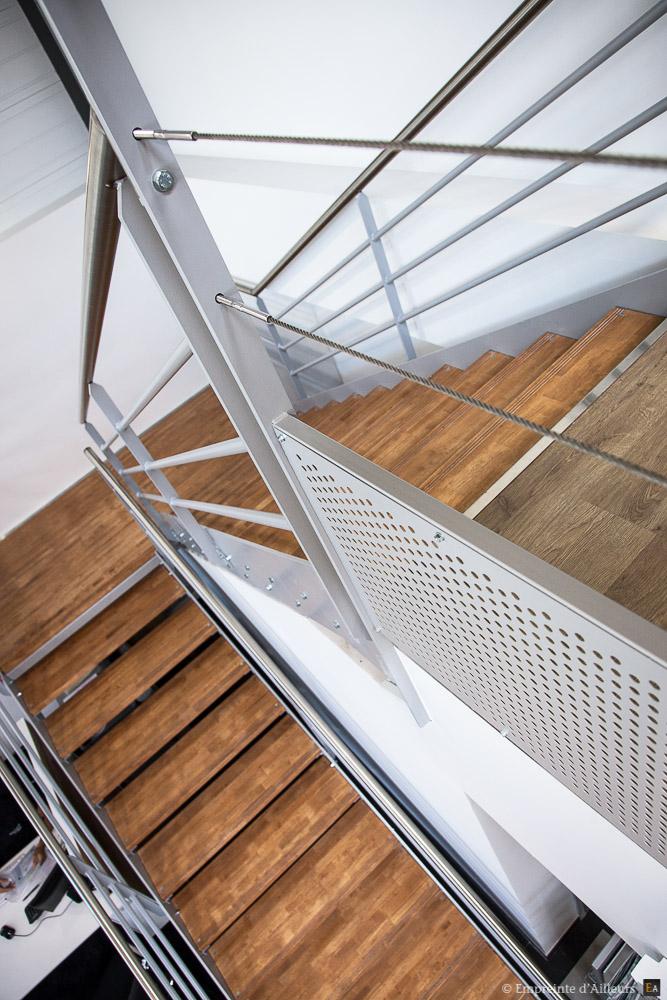 Vue d'escalier