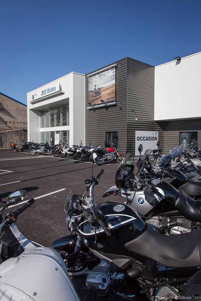 Concession des riders BMW