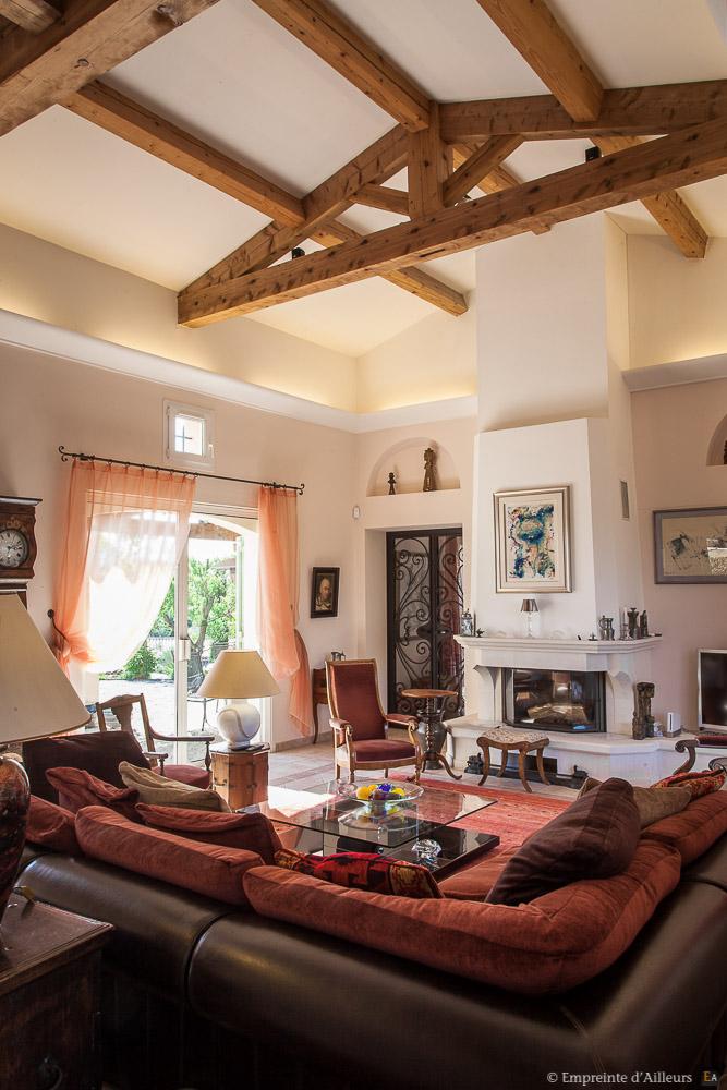 Confort d'un salon d'interieur