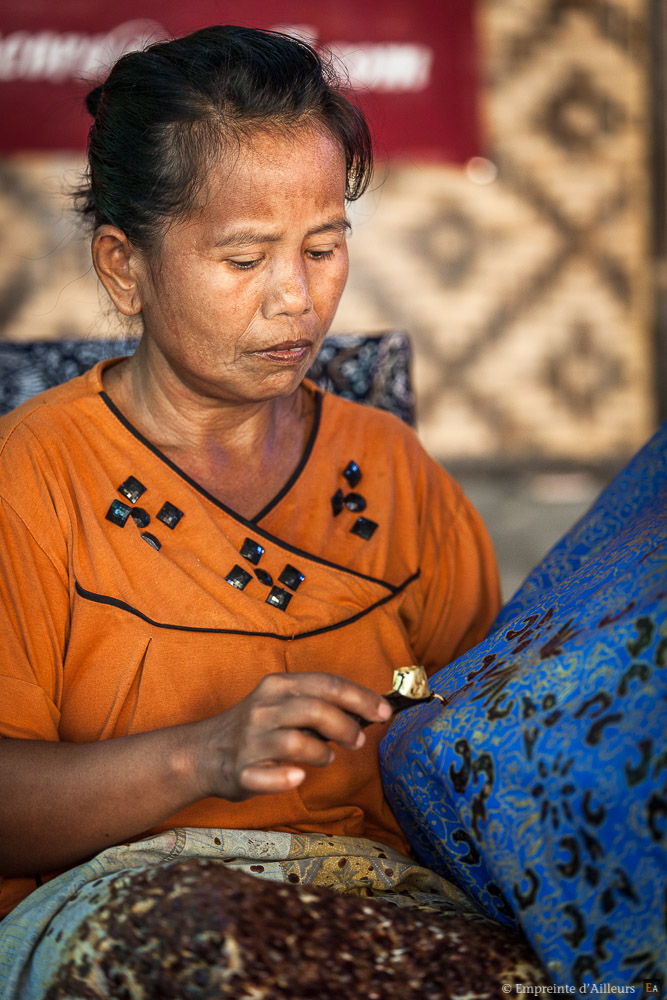 Batik traditionnel de Java