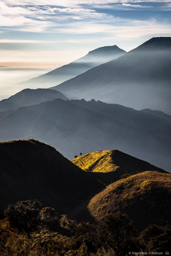 Colines et volcans