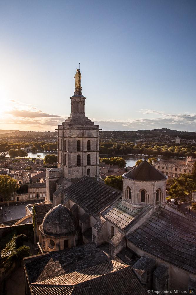 La cathédrale vue du ciel