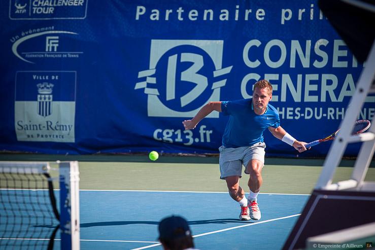 Vincent Millot Tournoi de tennis des Alpilles