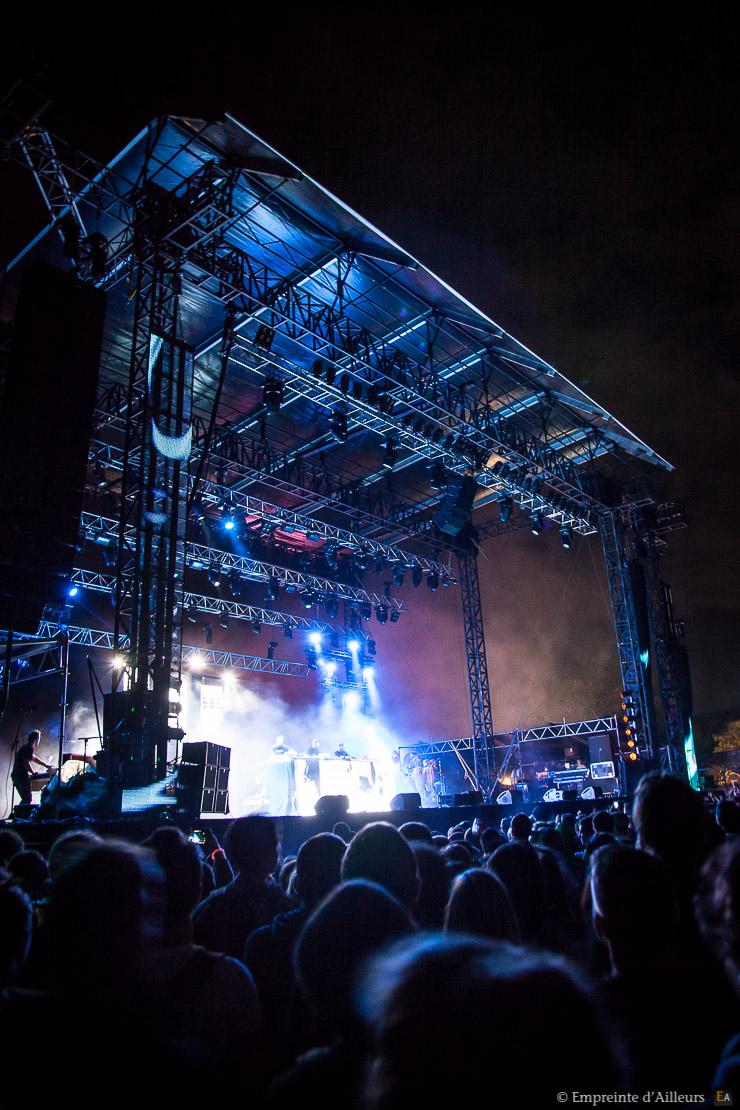 Concert Chinese Man, festival Lives au Pont 2014