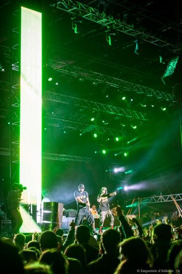 Concert Method Man & Redman, festival Lives au Pont 2014