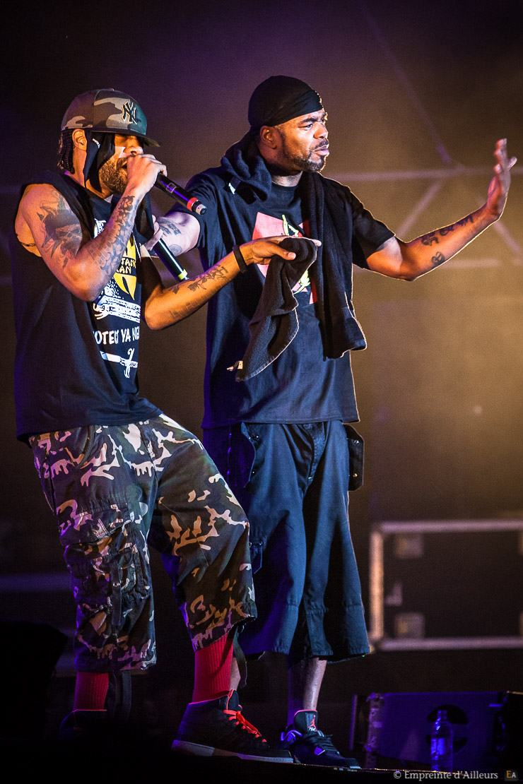 Concert Method Man & Redman, festival Lives au Pont 2014