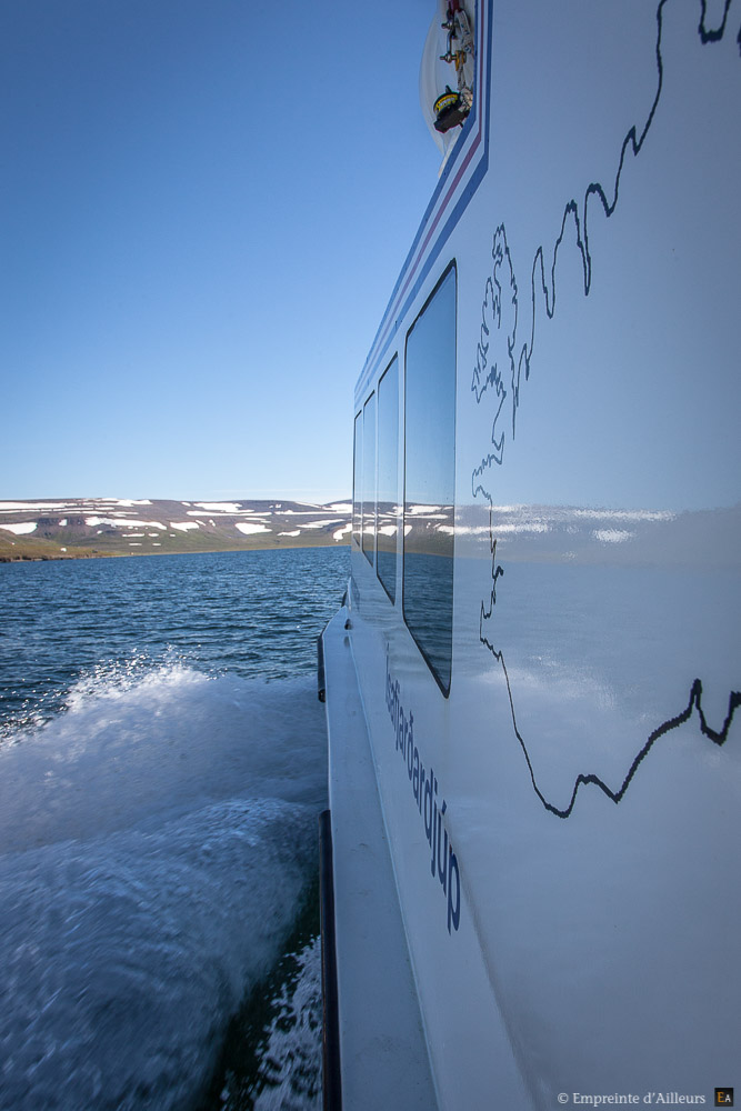 Iceland boat