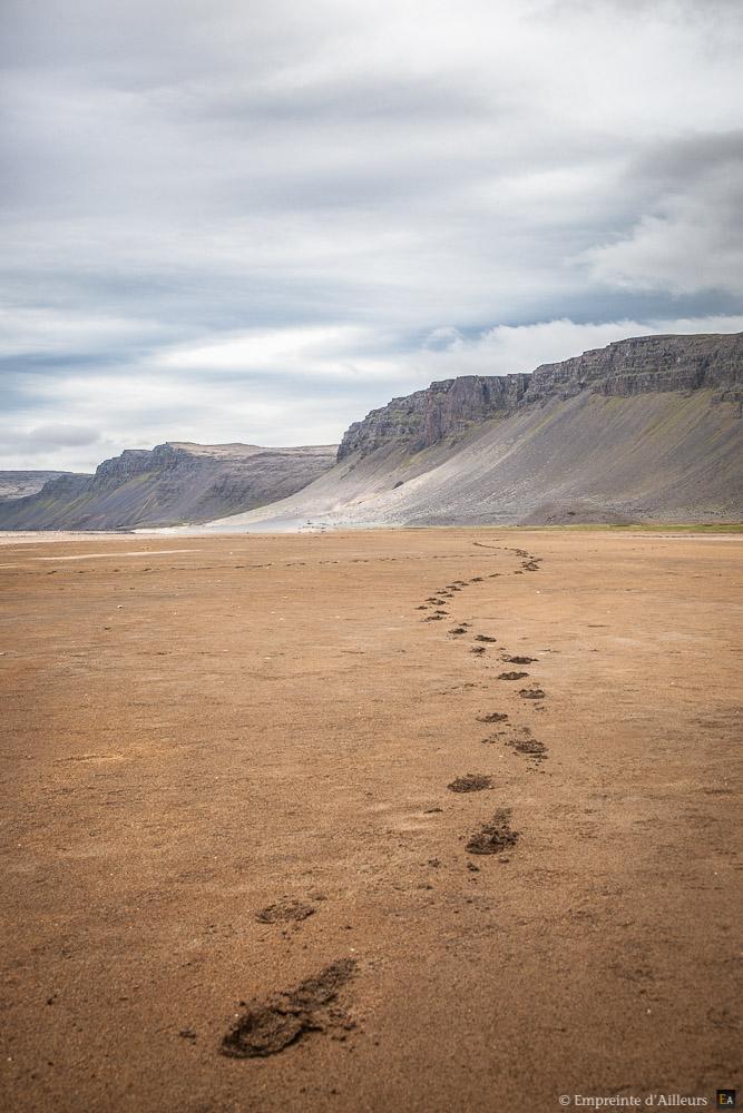 La trace de Rauðisandur