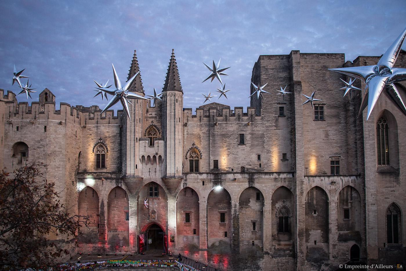 Installation pour le Téléthon Avignon