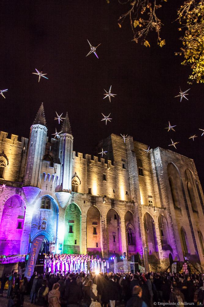 Illumination Palais des Papes d'Avignon