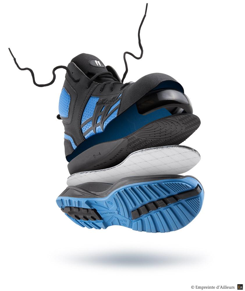packshot-studio-chaussure-decompose