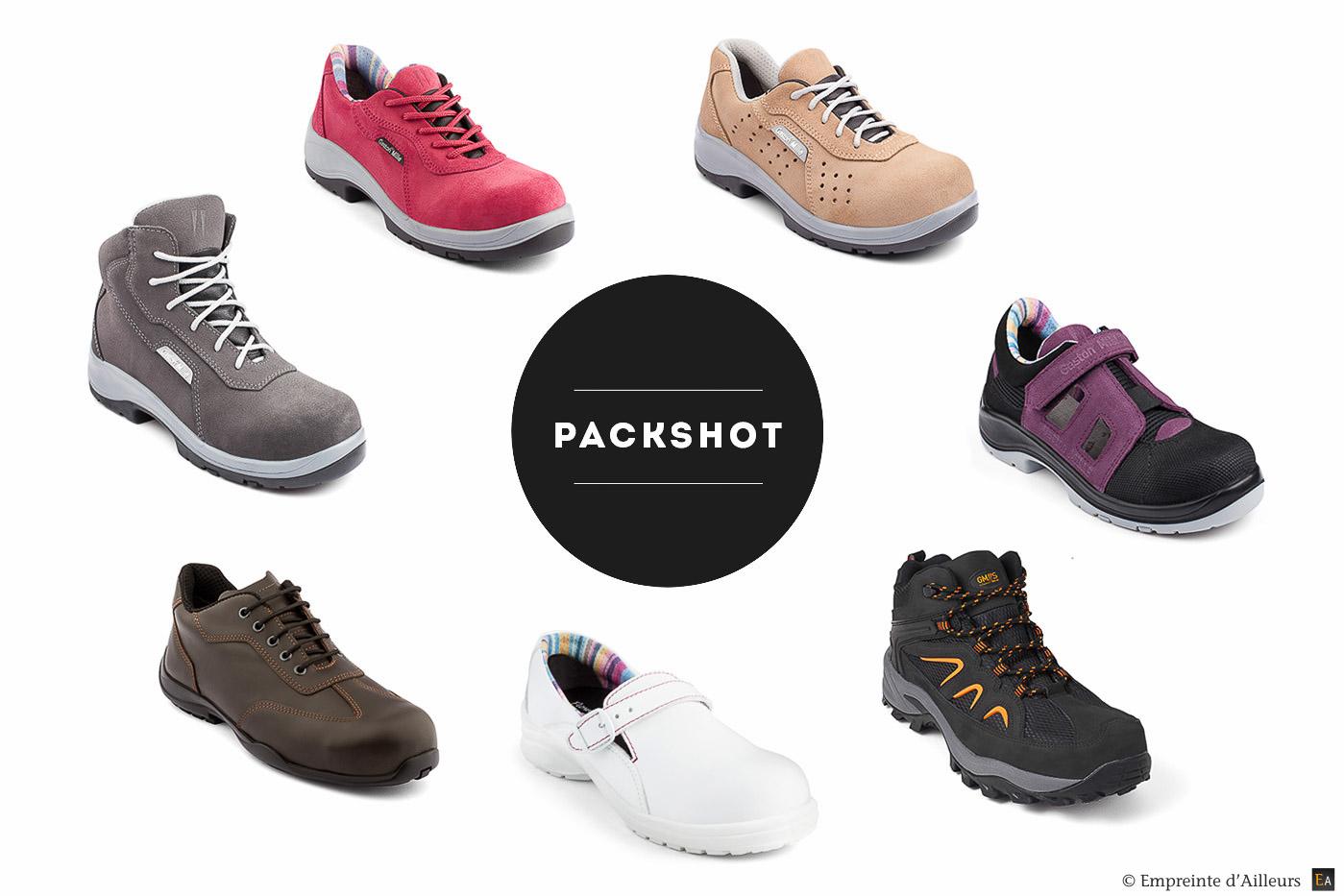 Packshot studio photo produit