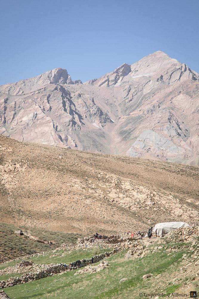 Tente nomade dans les Zardkouh
