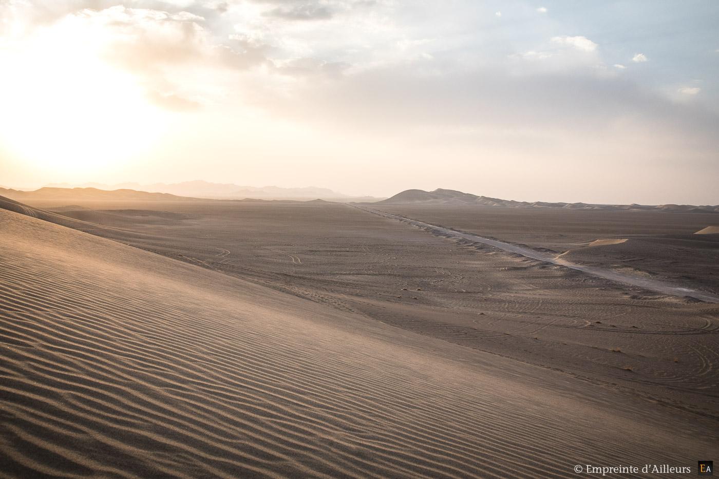 Passage dans le désert